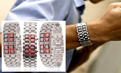 Đồng hồ Led Samurai độc đáo giành cho Nam