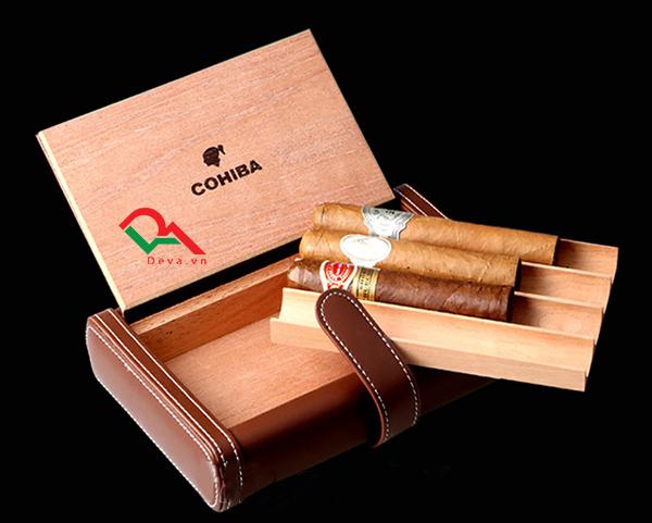 Tại sao nên lựa chọn hộp đựng xì gà bọc da?