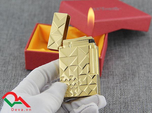Bật lửa đẹp làm quà trung thu tặng Sếp - Bật lửa Dupont