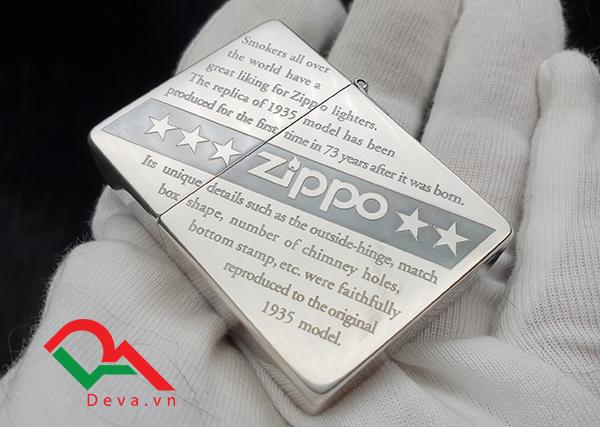 Top bật lửa Zippo mạ bạc đáng mua nhất hiện nay!