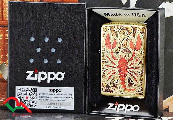 Mách bạn mẹo chon quà tặng bật lửa Zippo chính hãng