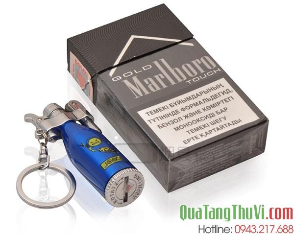 bật xăng đá có thể cho vào hộp thuốc lá