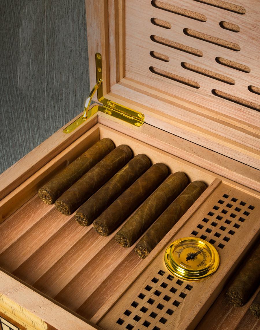 Hộp ủ xì gà cao cấp Lubinski YJA-60010