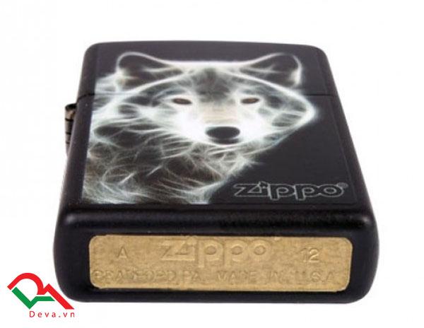 zippo mỹ white wolf chính hãng mỹ