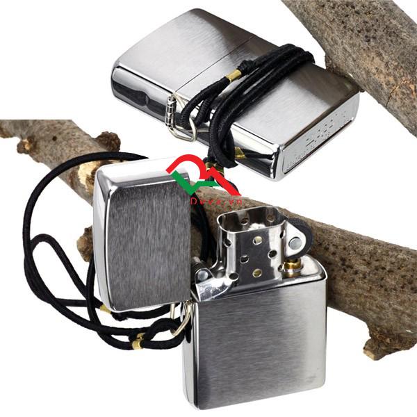 bật lửa zippo mỹ có dây đeo đẹp