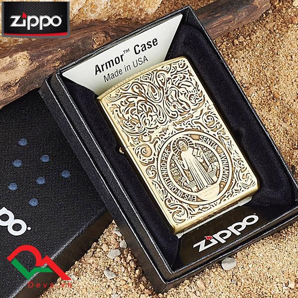 Bật lửa zippo thiên chúa và thánh giá Z34