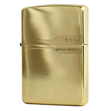 Zippo Smooth Gold Plated ZN131