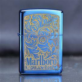 Zippo ốp hình đại bàng the king of the sky Z189