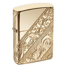 Zippo Armor 2018 Collectible mạ vàng Golden Scroll Z245